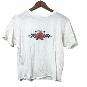 Have Faith Rose t-shirt